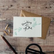 Hunter Paper Co. Thinking Of You Card